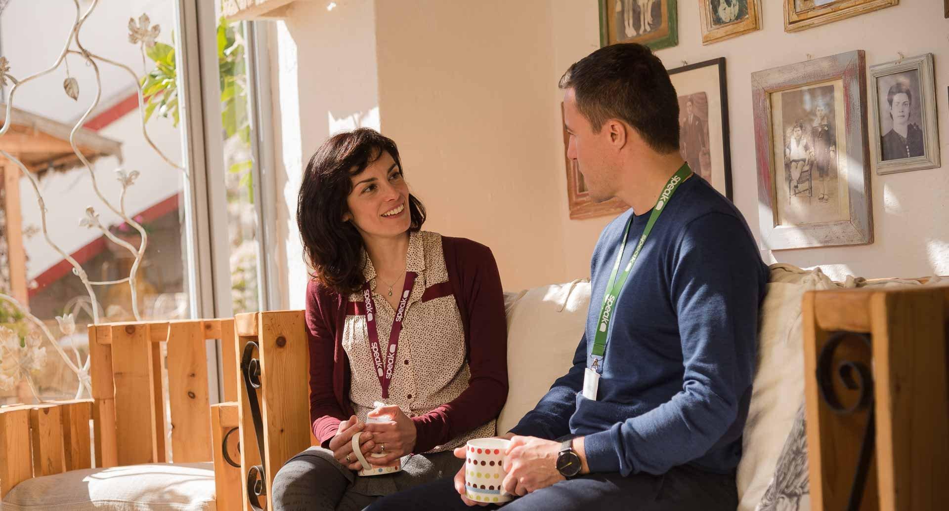 Una conversazione One-to-One durante la full Immersion di Speak